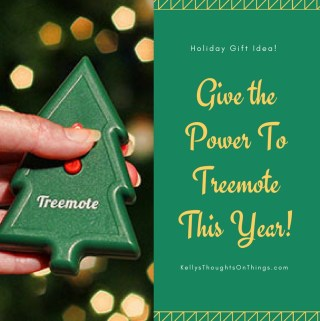 Give the Power To Treemote This Year!