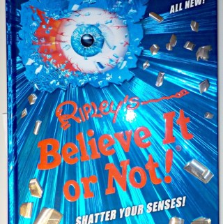 Shatter Your Senses with the New Ripley's Book