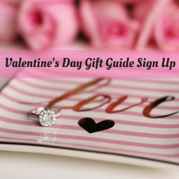 Sign Up for Valentine's Day Gift Guide