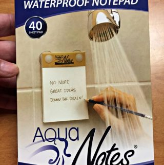 Waterproof Love Notes For Valentine's Day