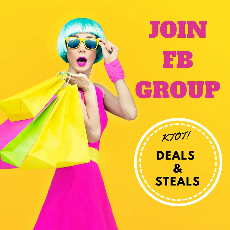 Join KTOT FB Group Deals & Steals