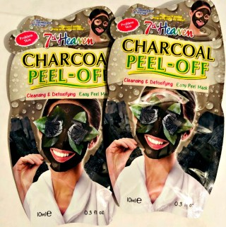 Detoxify Your Skin With A Charcoal Peel Off Mask from 7TH Heaven