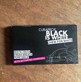 Curaprox Black Is White Gum With Charcoal