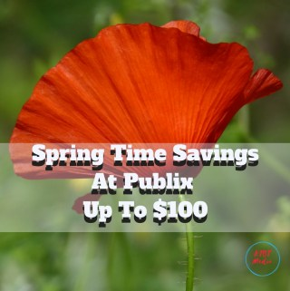 Spring Time Savings At Publix – Up To $100