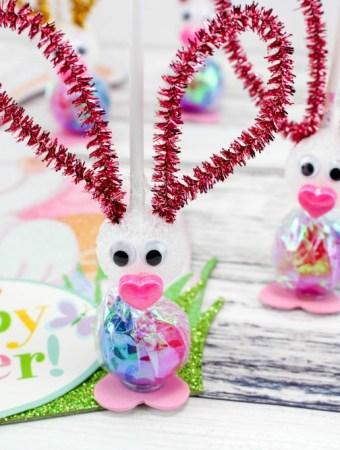 Easter Bunny Sucker Craft Final