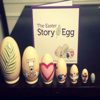 The Easter Story Presented By An Egg