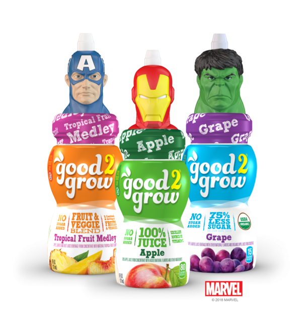Giveaway: Movie Tickets and Good2Grow Juice