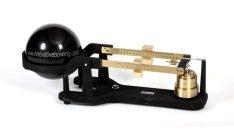 Bowling ball balance scales