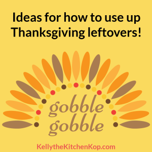 Ideas for turkey leftovers