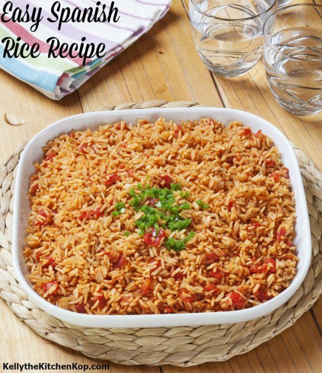 Easy Homemade Spanish Rice