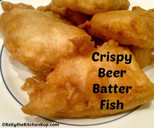 Homemade beer batter for Low carb fish batter