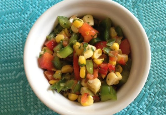 Grilled Corn Fresh Summer Salad