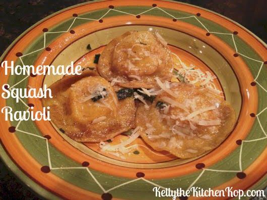 homemade squash ravioli 2