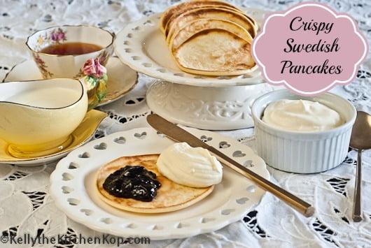 Crispy Swedish Pancakes