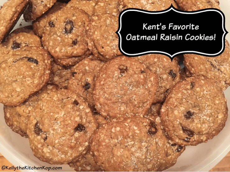 Favorite Oatmeal Raisin Cookie Recipe