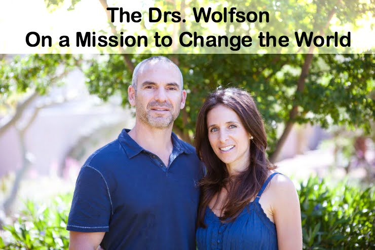 Drs Wolfson Jack Heather  >> Open Fire On The Drs Wolfson Yet Still On A Mission To Change The