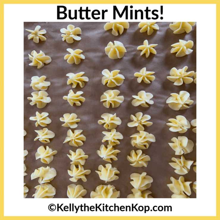 Low-Carb Butter Mints