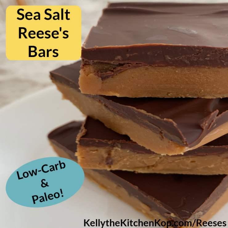 Sea Salt Reese's Bars