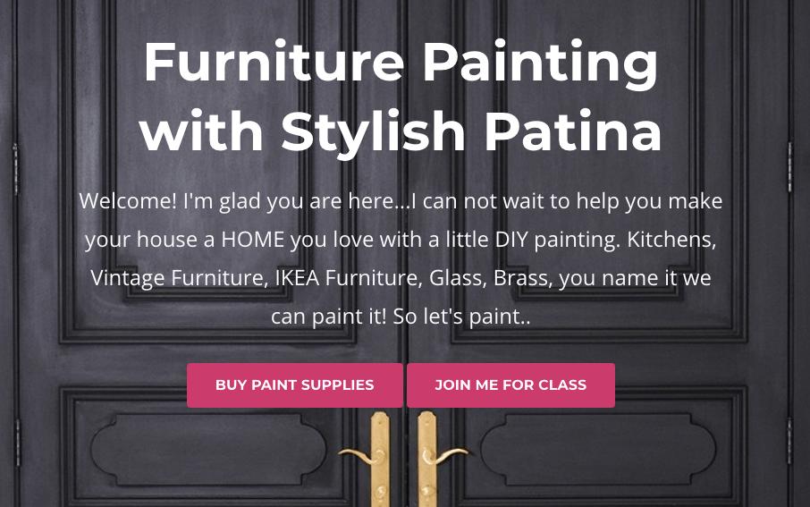 DIY Furniture Painting 101 Class