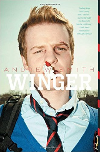 Winger book cover