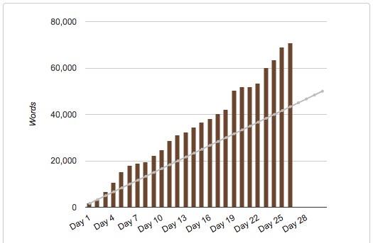 NaNo 2017 bar graph