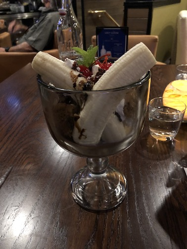 Giant Banana Split