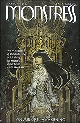 Monstress Awakening book cover