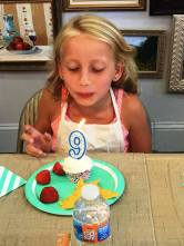 Bday Party Alayna candle
