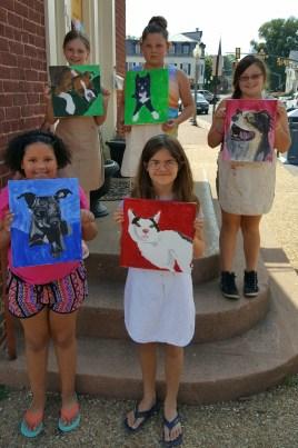 Kids Pet Portraits June 3