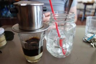 Cold-drip Vietnamese iced coffee ($5)