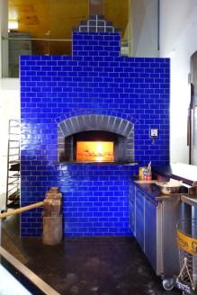 Stunning wood-fire oven