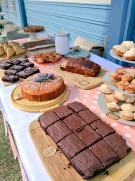 Brisbane Film Fest cake stall