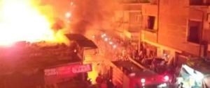 حريق محطة مترو شبرا الخيمة