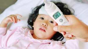 ارتفاع الحرارة عند الاطفال