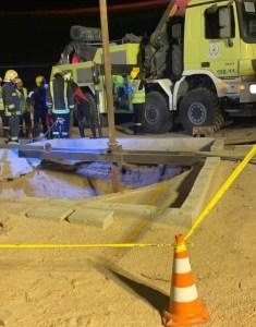 السعودية : وفاة مواطن سعودي اثر حادث انهيار بئر أثناء عملية الحفر