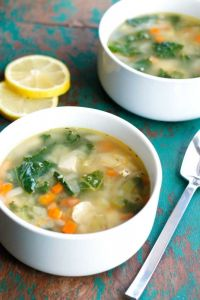 Image of healthy soup to eat following oral surgery