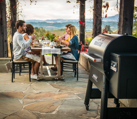 Outdoor living and patio furniture in Kelowna.