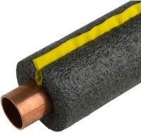 Self sealing foam pipe insulation in Kelowna.