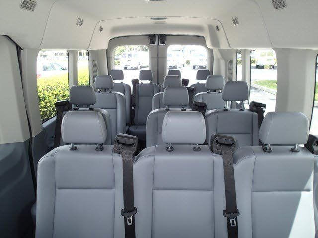 Luxury Ford Transit Van Interior Kelowna Limo