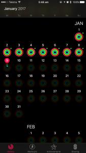 apple activity rings january
