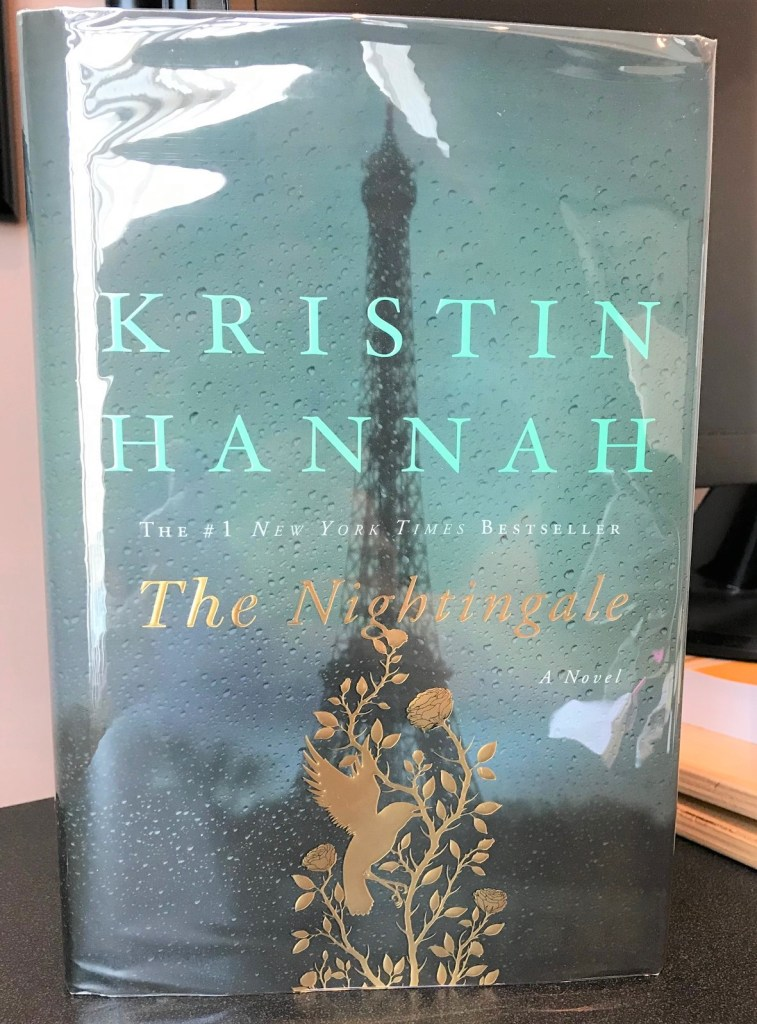 """The Nightingale"", by Kristin Hannah. First Edition. Special signed edition."