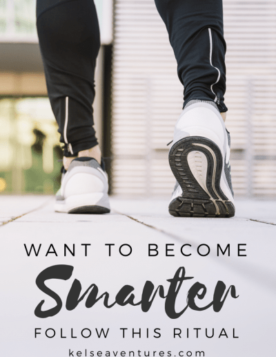 Want To Become Smarter? Follow this Ritual...