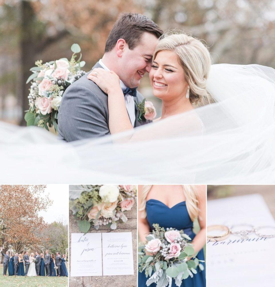 Kansas City fall wedding