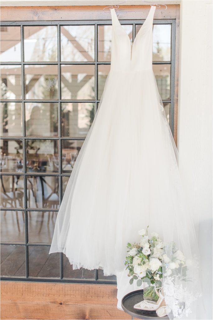 Belle Vogue Bridal KC classic timeless A line dress