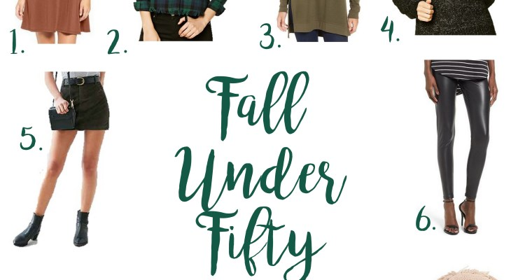 Fall Under Fifty