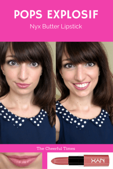 - NYX Butter Lipstick drugstore makeup review   The Cheerful Times