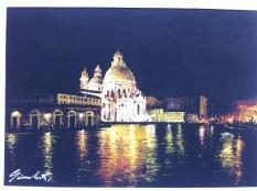 Local art by Giamberti, a painter in Venice