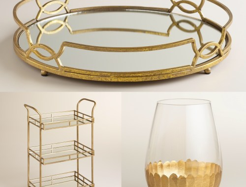 gold home goods