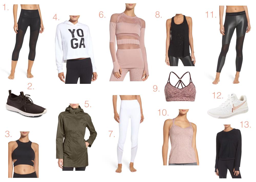 2017 Nordstrom Sale Activewear Picks