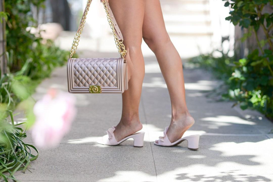 lifestyle blogger Kelsey Kaplan of Kelsey Kaplan Fashion wearing affordable spring fashion